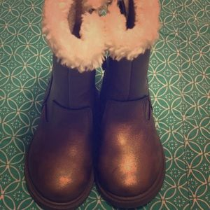 Carter's Toddler New Bronze Boots Size 5
